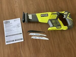 Ryobi P514 ONE+ 18V Battery Powered Reciprocating Saw, TOOL ONLY, EXCELLENT!
