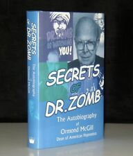 SECRETS OF DR. ZOMB ORMAND McGILL AUTOBIOGRAPHY SIGNED FIRST EDITION HYPNOTIST