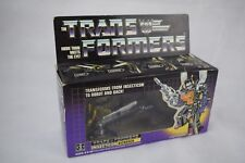 VINTAGE 1984 HASBRO TAKARA TRANSFORMERS G1 INSECTICON KICKBACK ROBOT BOXED