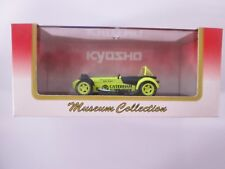 Kyosho Museum Collection Caterham Super Seven JPE Yellow 1:43 03152Y