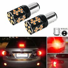 Car Tail Lights 1157 LED Canbus Error Free Brilliant Red 44SMD P21/5W BAY15d LED