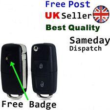 2 Button Key Remote Fob Case for Seat Ibiza Leon Altea Exeo Arosa Alhambra Badge