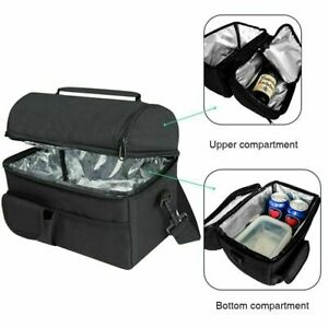 Newest Insulated Lunch Bag Box Thermal Cooler Hot Cold Adult Tote Food