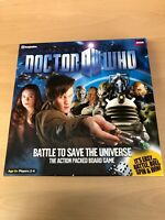 NEW /Opened BBC DOCTOR WHO - BOARD GAME- BATTLE TO SAVE THE UNIVERSE COLLECTABL