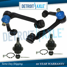 4pc Front Upper Control Arm w/ Ball Joints for Ford F-150 F-250 Expedition 4WD
