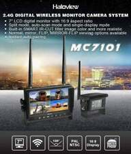 "HALOVIEW MC7101 7"" DIGITAL WIRELESS BACKUP CAMERA SYSTEM WITH BUILT-IN DVR"
