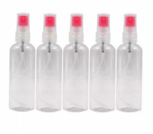 DUNSPEN Empty Spray Container Bottle SET of 5 (100ml)