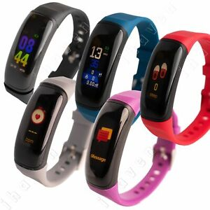 Smart Activity Fitness Tracker Watch Pedometer Heart Rate Monitor iPhone Android