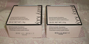 Lot of 2 MARY KAY Beige 1.5 Mineral Powder Foundation .28 oz. Each