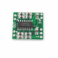 2Pcs 2Ways 3W Digital Power PAM8403 Class D Audio Amplifier Board USB DC 5V