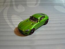 2018 Hot Wheels Sciolto = `15 Mercedes-Amg Gt = Verde