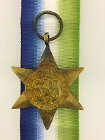 British WWII Atlantic Star full size veteran replacement medal
