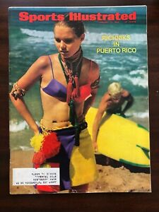 Sports Illustrated January 13, 1969 ~ Swimsuit Issue ~ Richniks in Puerto Rico