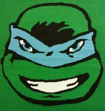 Teenage Mutant Ninja Turtles Big Boys TMNT Leonardo Intarsia Sweater, Green XL