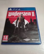 Wolfenstein II 2 : The New Colossus Sony PlayStation 4 PS4 Game, 2017