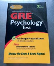 Gre Psychology : Graduate Record Examination 6 Full-Length Practice Exams s#8503