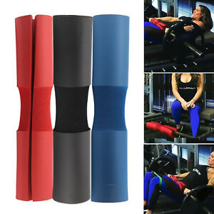 Foam Padded Barbell Bar Cover Pad Weight Lifting Shoulder Back Support Gift UK