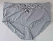 M & S Size 8 knickers panties briefs Mid Rise Grey