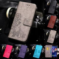For Huawei Honor 7 8A 9 10 Lite Magnetic Pattern Leather Flip Wallet Case Cover