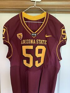 Arizona State Sun devils Game Team Issued Jersey sz 50