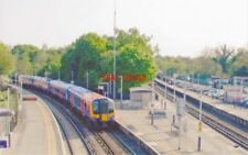 PHOTO  VIRGINIA WATER RAILWAY STATION SURREY 2007 LSWR WATERLOO - STAINES - READ