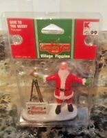 2007 LEMAX COVENTRY COVE GIVE TO THE NEEDY SANTA VILLAGE FIGURE