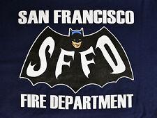 San Francisco Fire Department 1966 Batman T-Shirt - NEW