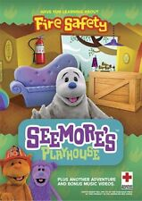Seemore's Playhouse: Fire Safety DVD New Sealed Free Shipping D1061