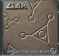 LIAR- While The City Sleeps CD hard rock/heavy ala DOKKEN, HEAVY PETTIN´
