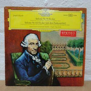 138 007 HAYDN Symphonies no 91 and 103 EUGENE JOCHUM BAVARIAN R DG STEREO LP NM