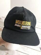 Wolverine Dura Shocks adjustable trucker hat baseball cap