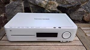 HARMAN KARDON BDS-270 Verstärker RECEIVER 2.1 BLURAY DVD Player weiß
