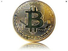 Bitcoin Coin Münze Mining Miner Medaille Sammelmünze Brandneu BTC