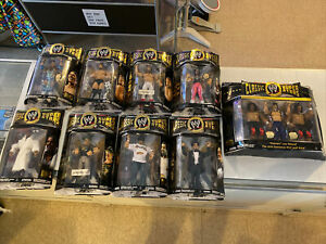 WWE Jakks Classic Superstars WWF Wrestling Figures Lot