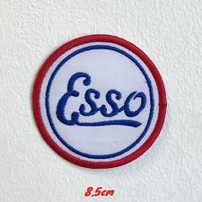 Esso Moteur Huile Badge Brodé Repasser Patch à Coudre #1600