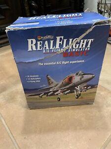 Great Planes Real Flight Basic R/C Flight Simulator In Open Box