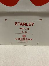 Grenson Stanley Leather Brogues Shoes BNIB UK8 Green - Rare