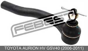 Steering Tie Rod End Left For Toyota Aurion Hv Gsv40 (2006-2011)
