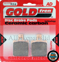 DUCATI MONSTER CITY DARK 600 > SINTERED REAR BRAKE PADS *GOLDFREN* . (FA047HH)