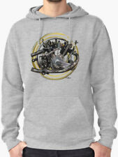 Montgomery Anzani 1924 Motorcycle engine Sweatshirt, Hoodie INISHED Productions