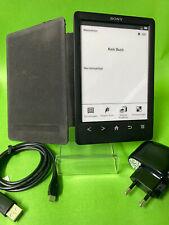 """SONY PRS-T3  - Schwarz - ebook ereader eBookreader 6"""""""