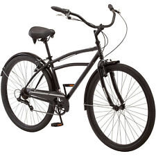 """29"""" Men's Cruiser Bike Adult Bicycle Beach Ride Smooth Padded Seat Cycling Steel"""