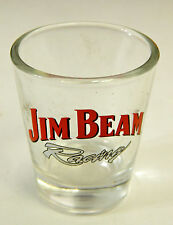 Jim Beam Racing Shot Glass Standard Size, Great Condition, Ships quick!