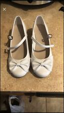 Girls White Dress Shoes Sz 2 Brand New Childrens Place