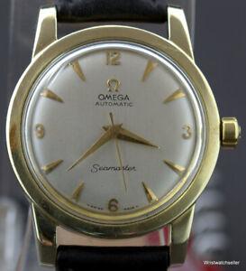 Vintage Omega Seamaster 2577 Calibre 352 RG Gold & Steel