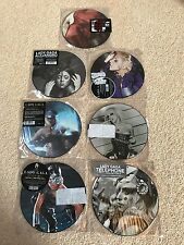 """LADY GAGA 7 PICTURE DISCS 7"""" VINYL LTD EDITION NEVER PLAYED PLASTIC SLEEVES"""