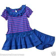 Chaps by Ralph Lauren 2 Piece Tiered Dress & Bloomers Set ~ Size 18 Months