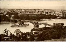 Coblenz am Rhein KOBLENZ ~1920/20 Teilansicht Blick auf die Rheinbrücke Schiff