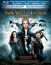 Snow White and the Huntsman (Blu-ray/DVD, 2012, Canadian) Movie Extended Edition