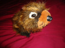 Plush Discovery Channel Wooster the Baby Porcupine, Wild Babies Series